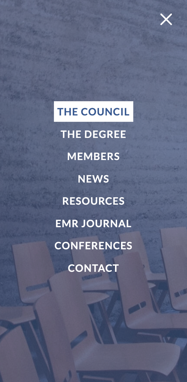 Mobile: Executive DBA Council, Web Development